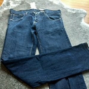 H&M & drain men's super slim jeans 36x34